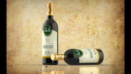 Wine Bottle- Rendering