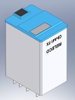 Releco 4-Pole 24VDC 5A Relay