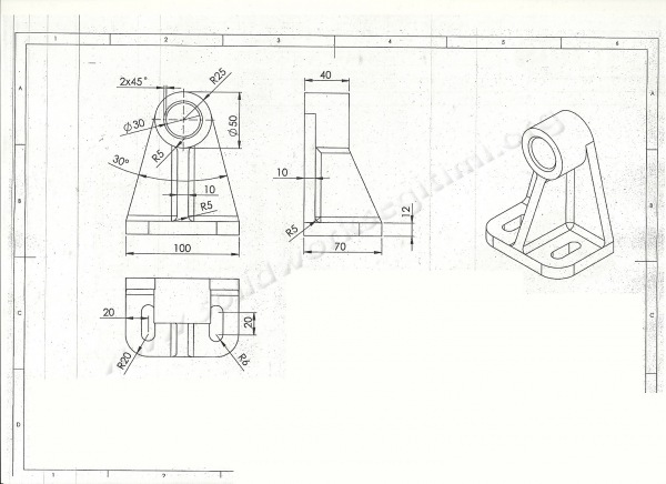 autocad 3d mechanical practice drawings pdf free download
