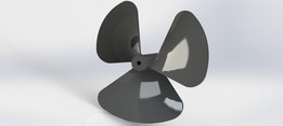Propeller 3 blade pitch 1.4