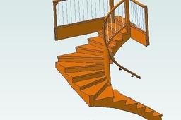 stairs case spiral