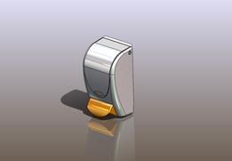Barrier cream dispenser