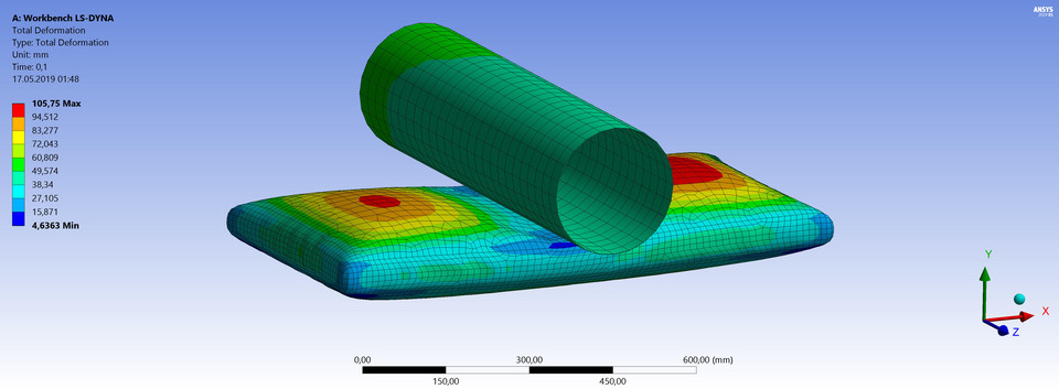Airbag - Ansys Workbench Ls-Dyna | 3D CAD Model Library | GrabCAD