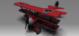 Triplane (Three Wings Aircraft)