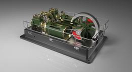 Twin Steam Engine