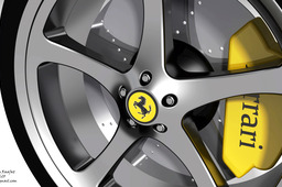 ferrari ring wheel (rim)