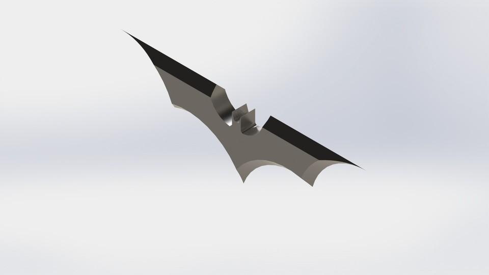 SOLIDWORKS, batarang - Recent models | 3D CAD Model Collection ...