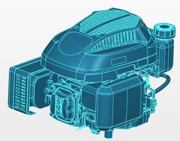 BRANCO B4T 6.0 V Lawn mower engine