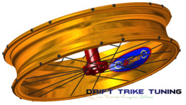 U-Bike DESIGN Rim Drift Trike