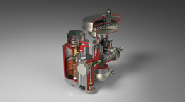 1953 Amal 335/1 Down Draught Induction Carburetter