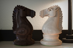 chess knight / caballo de ajedrez