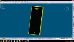 HTC 8X Yellow