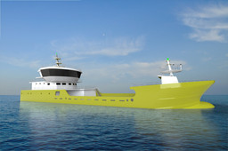 Cargo ship Y by CGPdesign team