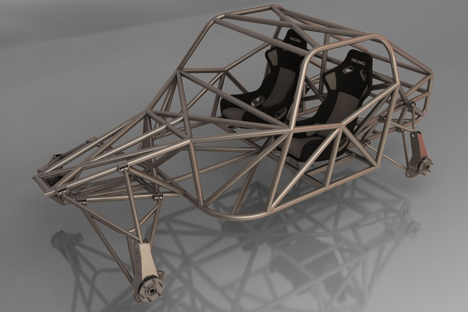 Offroad Buggy | 3D CAD Model Library | GrabCAD