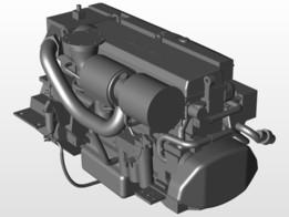 D7 Volvo-Penta marine engine