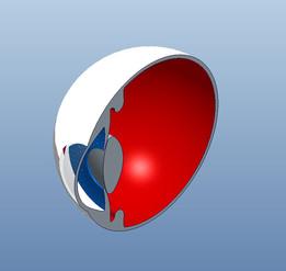model eye