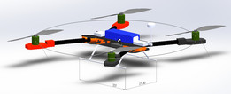 Carbon Foldable Quadcopter