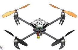 Custom Quadcopter based off the Talon V1 Frame