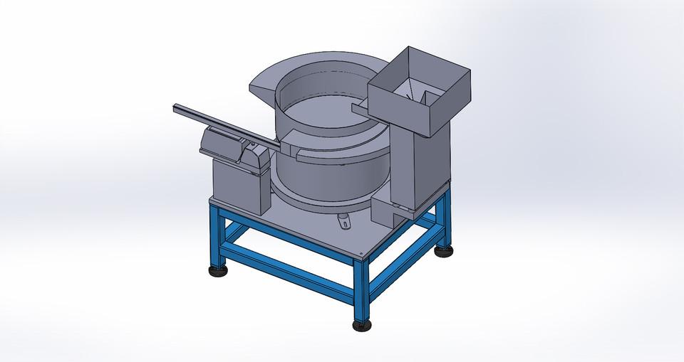 Vibratory Feeder Bowl | 3D CAD Model Library | GrabCAD