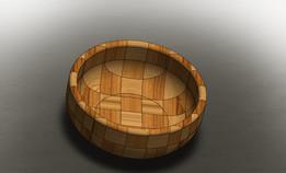 Wood Pot