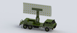 Army Radar Vehicle