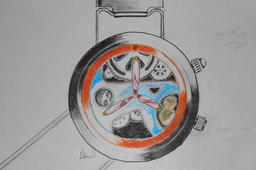Concept Sports watch sketch...Propelleon