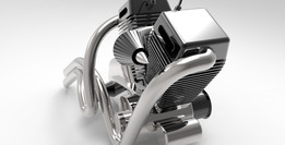 Harley Davidson Engine ( Chopper engine )