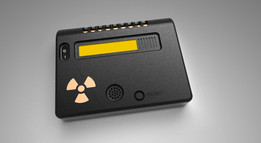 Geiger counter radiation detector