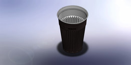 Automatic coffee cup