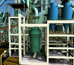 3-Raw Mill, Ducting Complex & Gas Conditioning (Cement Plant)