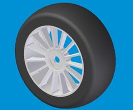 Wheel for RC-Car
