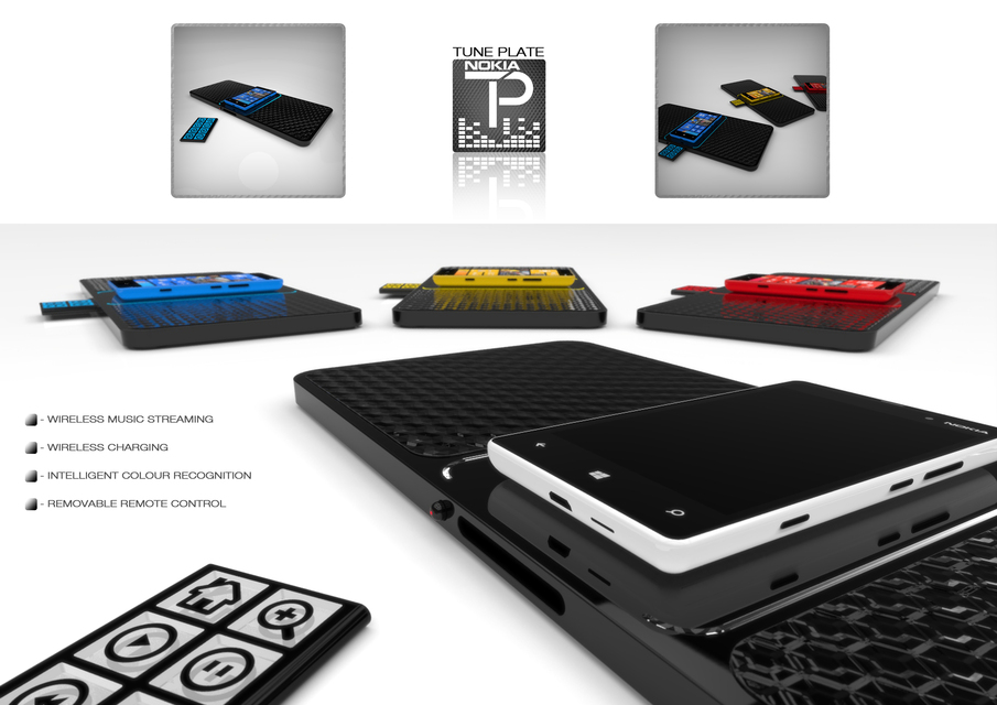 NOKIA TUNE PLATE | 3D CAD Model Library | GrabCAD