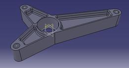 Angle rod