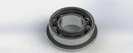F688ZZ Flange miniature bearing 8x16x5mm