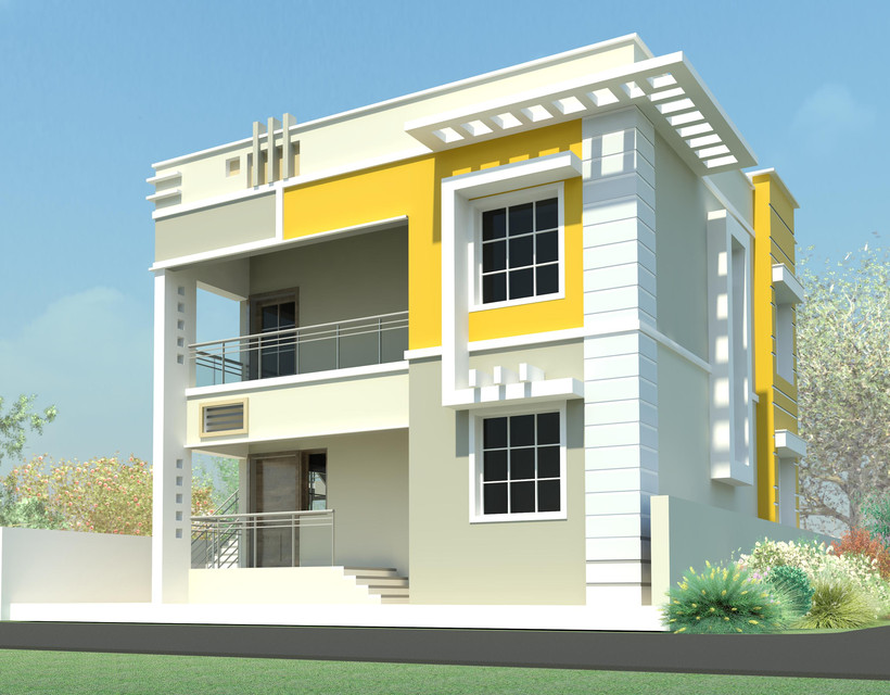 Residential house autodesk revit 3d cad model grabcad for Revit architecture modern house design