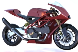 Ducati supermono engine