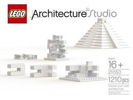 "LEGO #21050-1 Architecture Studio ""Create Your Own Architecrure"""