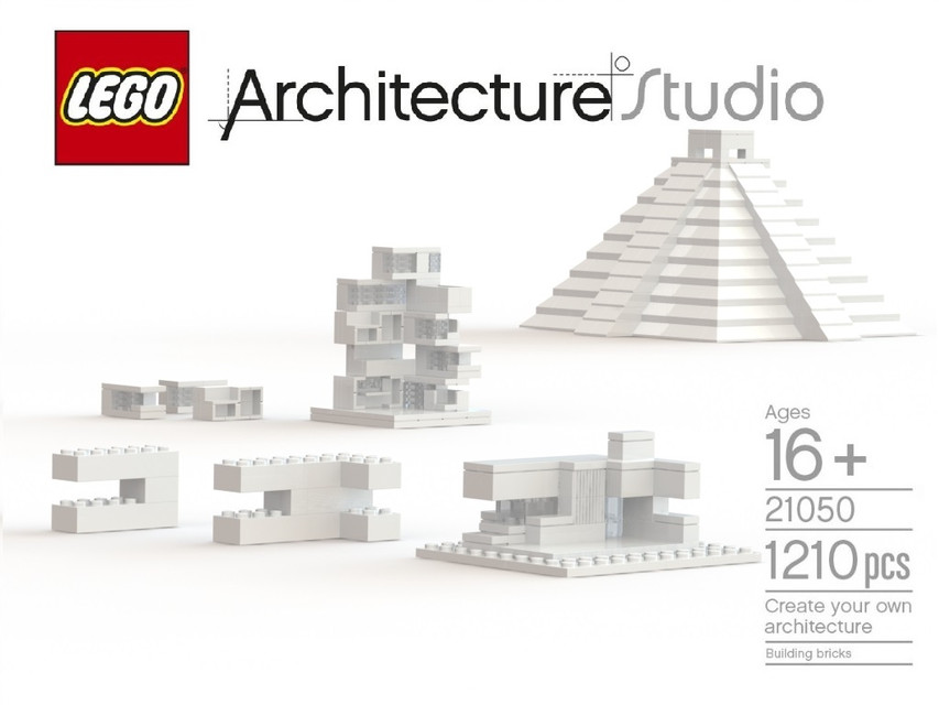 lego 21050 1 architecture studio create your own architecrure 3d cad model library grabcad