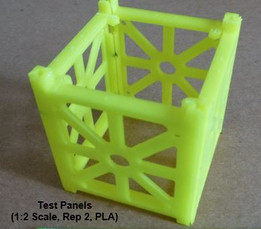Unipanel CubeSat for FDM 3D Printing