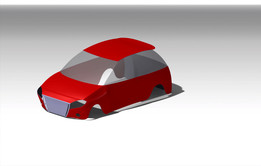 New Car model outer body