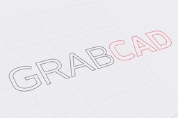 vectorized GRABCAD logo