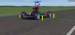 Go-Kart car high speed
