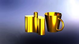 Cup and FLASK (Wayne Mack)
