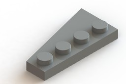 Lego 2 x 4 Wedge Plate