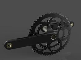 campagnolo bicycle crank
