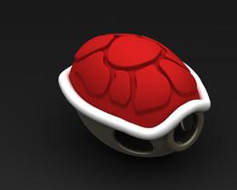 SUPER MARIO BROS - Red Shell