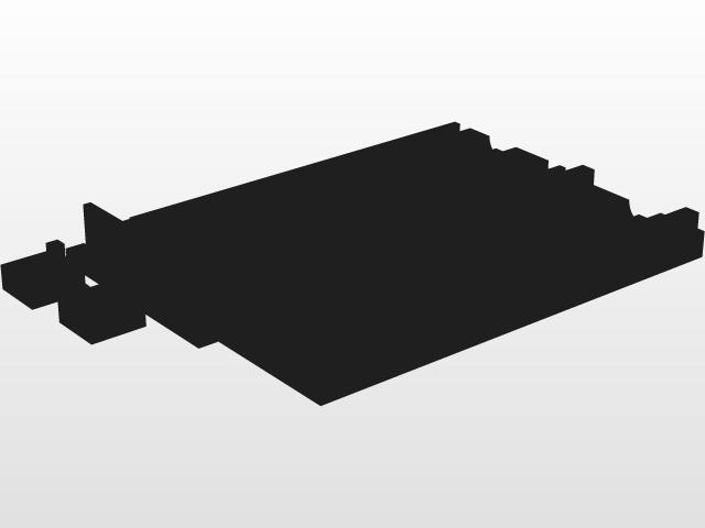 swimbait mold | 3D CAD Model Library | GrabCAD