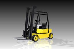 Forklift, lift truck (R2)