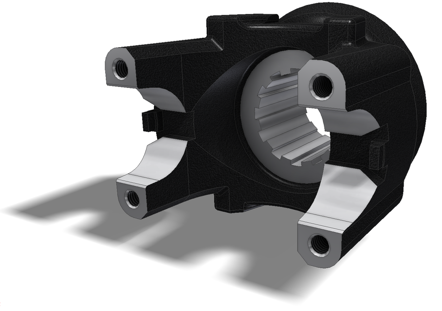 SPICER DRIVELINE COMPONENTS | 3D CAD Model Library