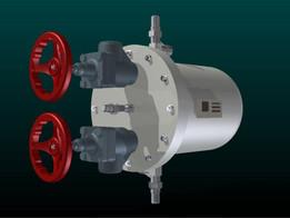 High pressure float regulator
